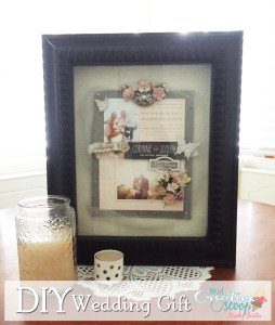 Easy DIY Wedding Gift