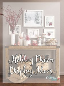 Fun Decor Friday – Holiday Decor Display Ideas
