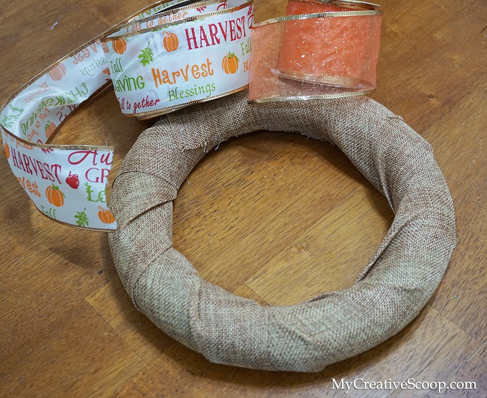 DIY - Simple and Quick Fall Wreaths tutorial 2