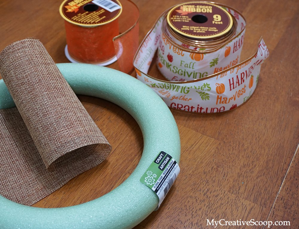 DIY - Simple and Quick Fall Wreaths - Tutorial