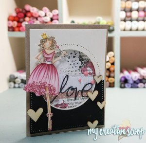 How to add Mixed Media into cardmaking