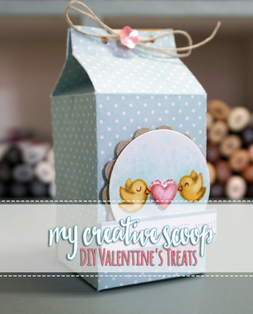 DIY Valentine Treats with Lawn Fawn Stamps