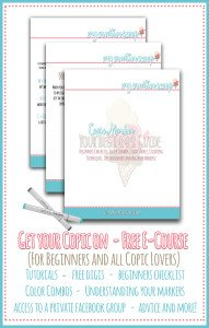 Join my 3 Day Beginner Online Copic Class – FREE