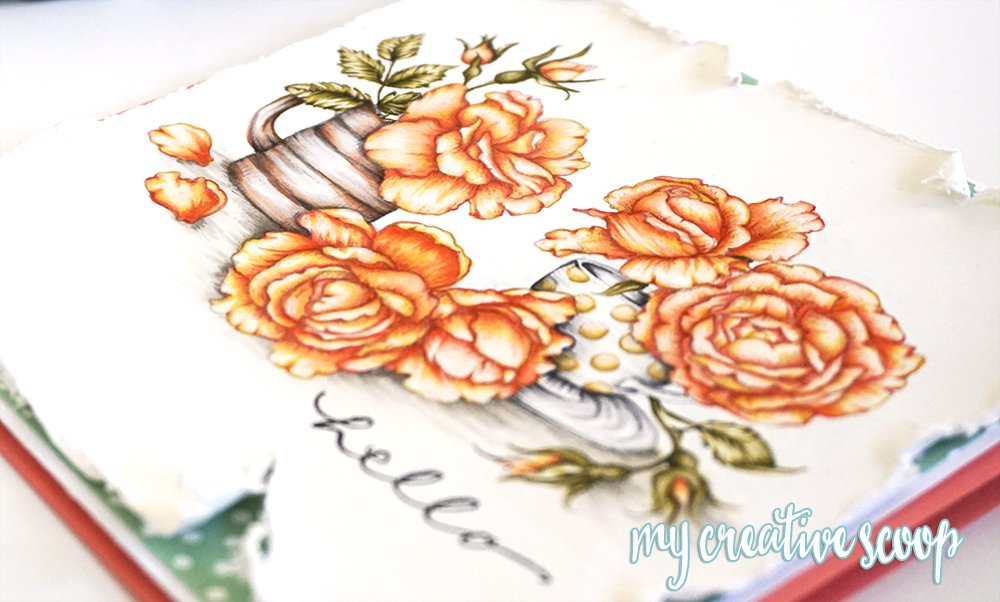 Create Fire and Ice Roses with Copic Markers