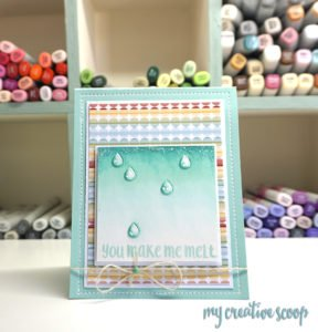 Creating water drops using your Copic Markers – Tutorial