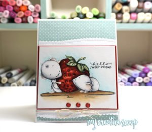 How to Color a Strawberry with Copic Markers – Step by Step Tutorial