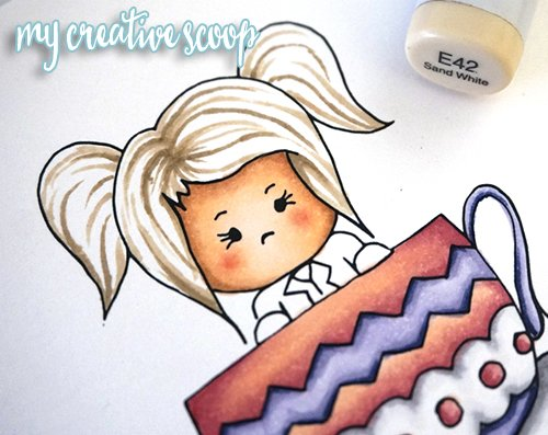 How to Color Hair using Copic Markers + FREE Digi Stamp2