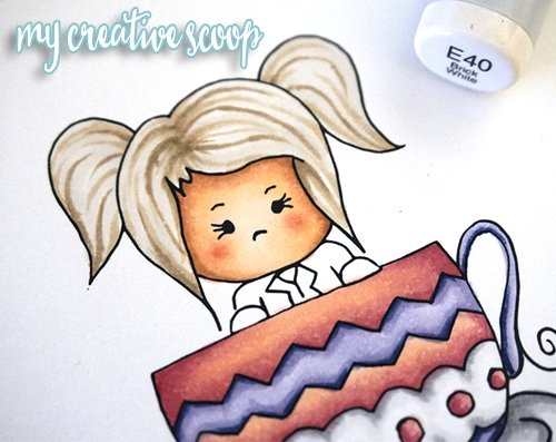 How to Color Hair using Copic Markers + FREE Digi Stamp3