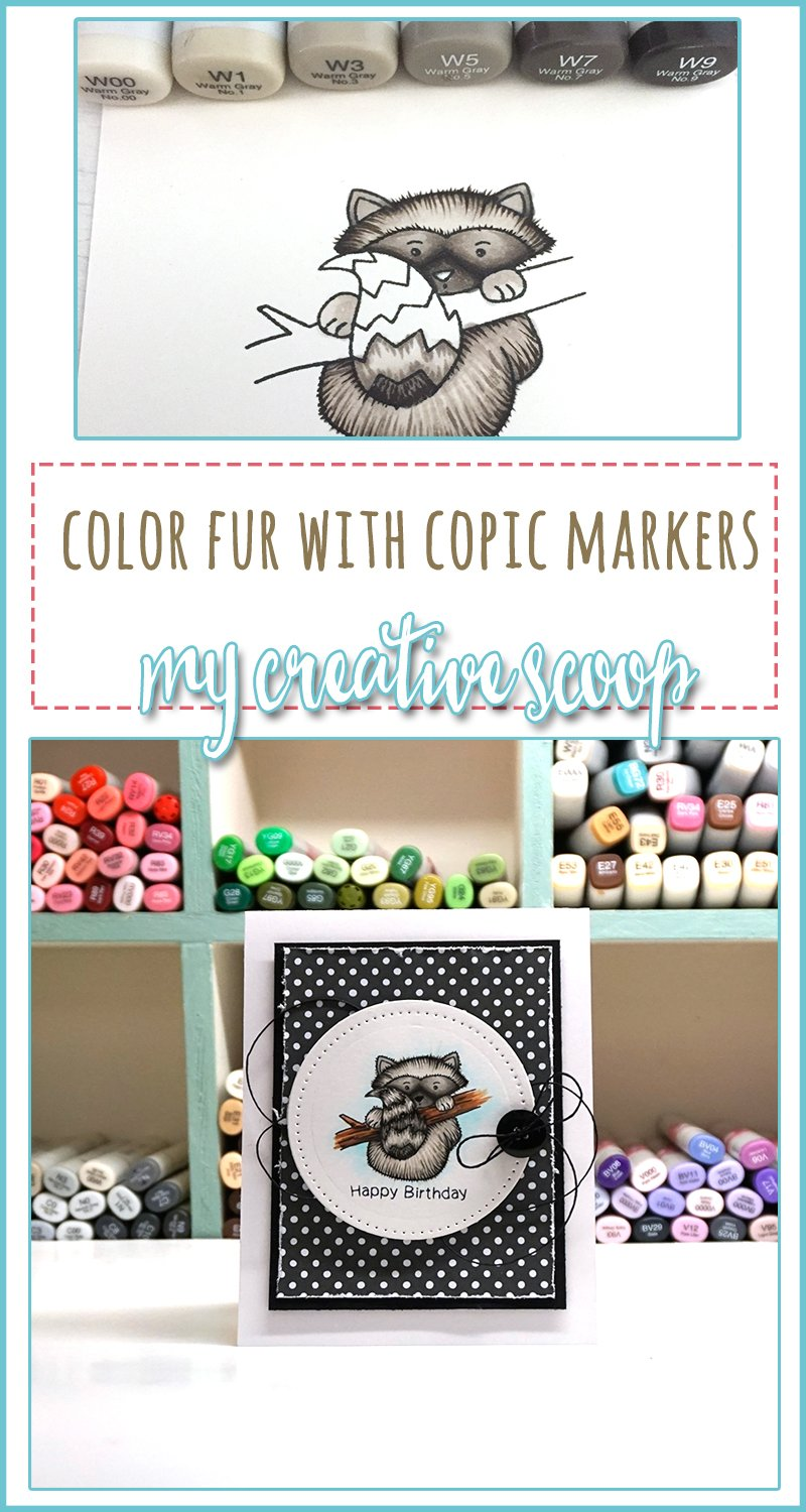 Coloring Fur using Copic Markers - Newton's Nook Designs