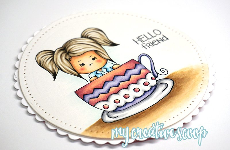 How to Color Hair using Copic Markers + FREE Digi Stamp Teacup Tommi Digi (1)
