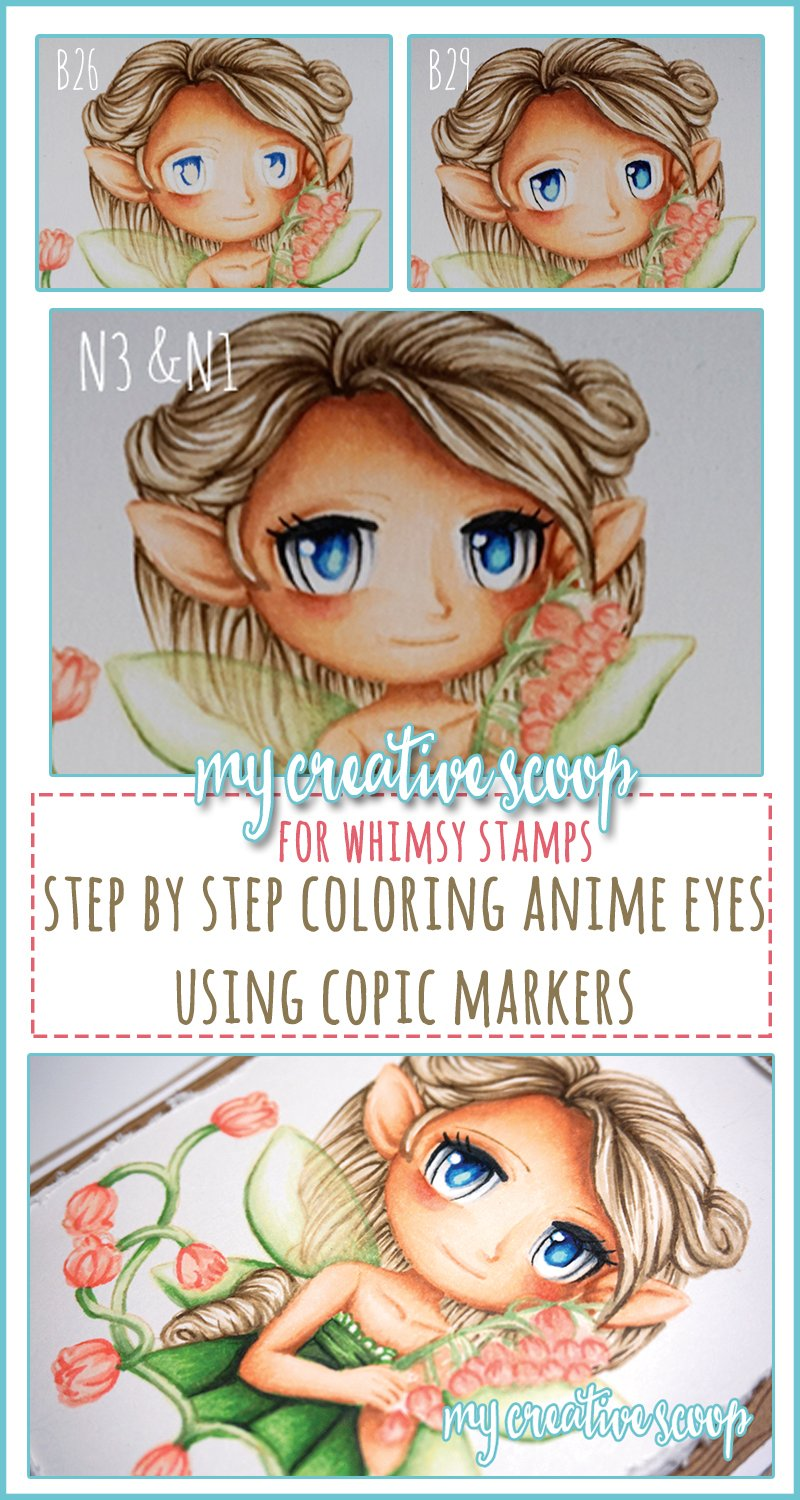 How to Color Eyes using Copic Markers - My Creative Scoop