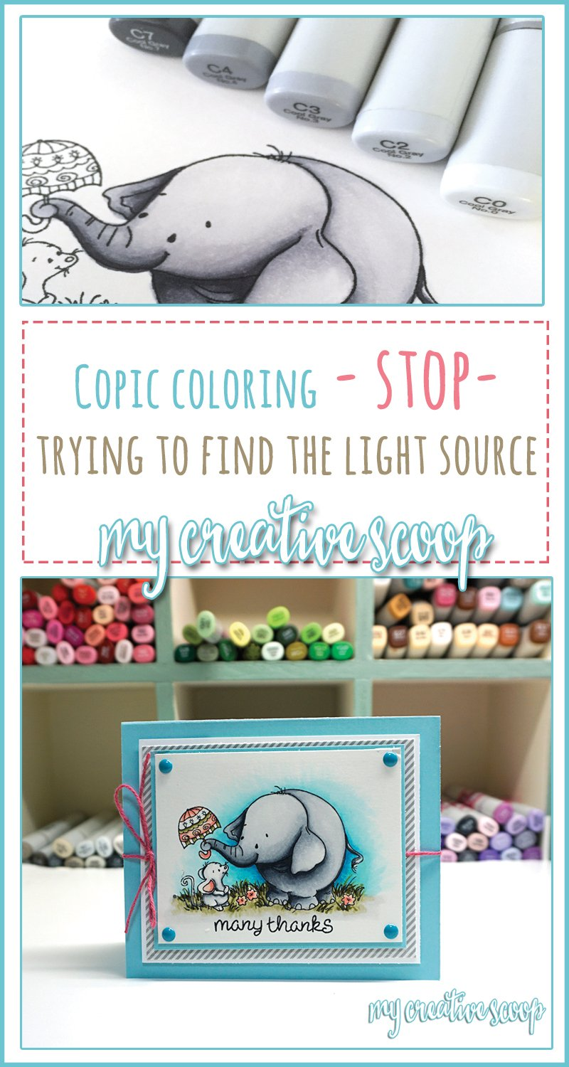 Stop - Trying tp Find the Light Source - Copic Mqrkers