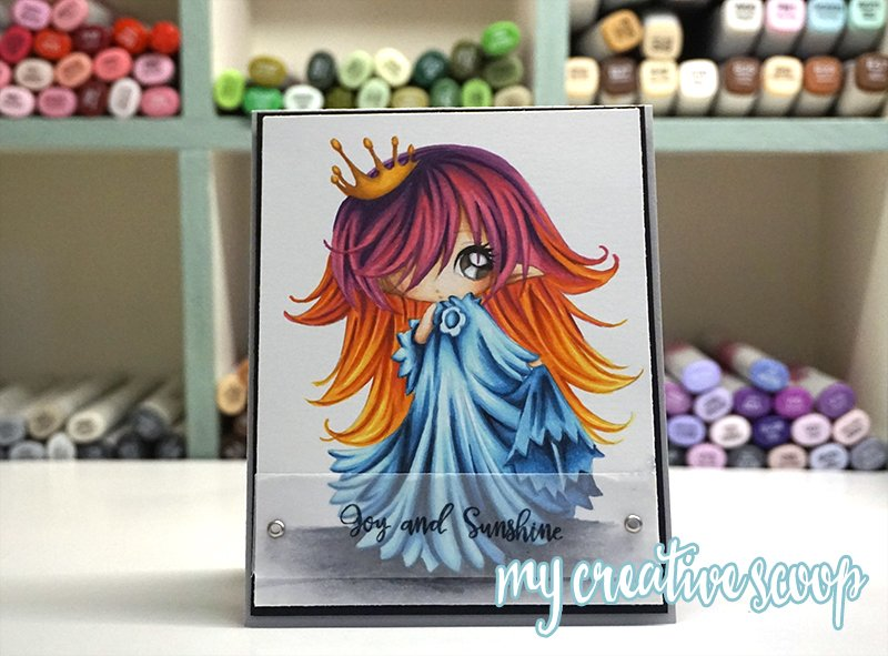 Coloring Multi-Colored hair using Copic Markers