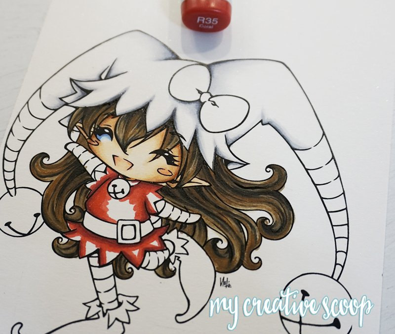How to Color and Shade Red Copic Markers 3