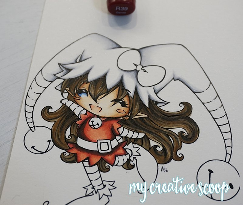 How to Color and Shade Red Copic Markers 7