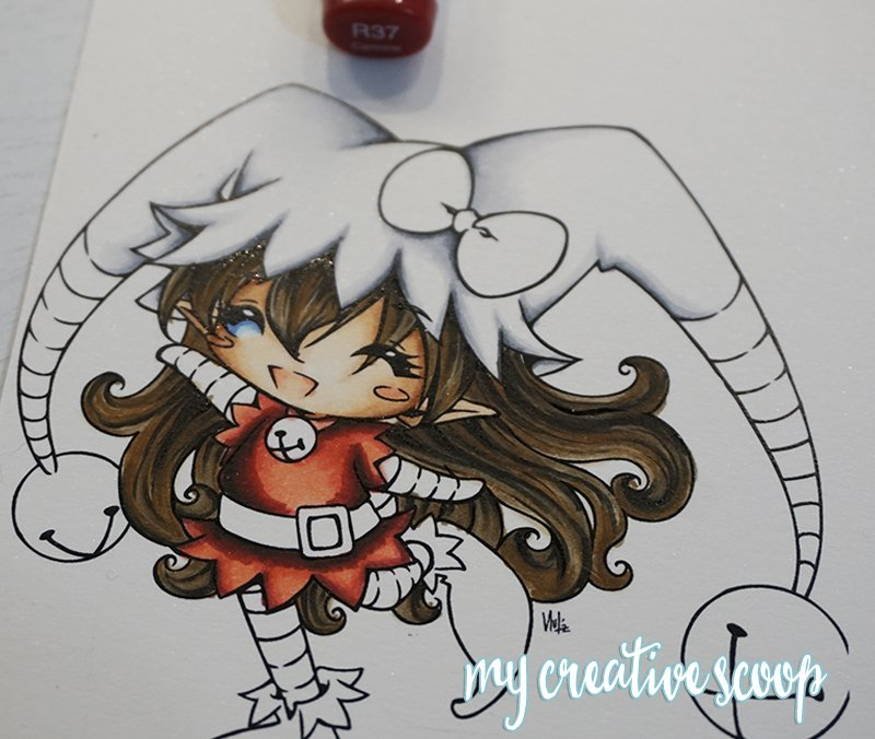 How to Color and Shade Red Copic Markers 8