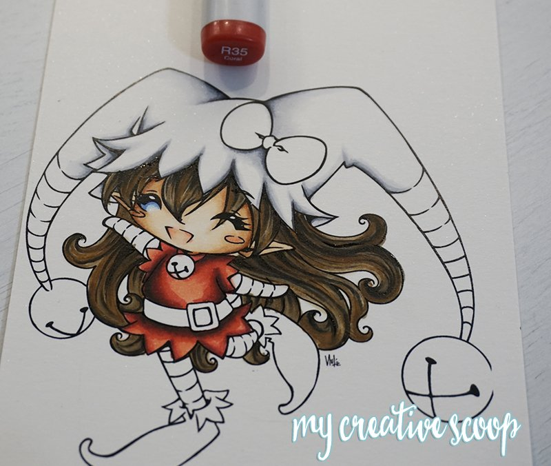 How to Color and Shade Red Copic Markers 9
