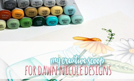 copic-tutorial-flower-in-a-jar - 8 Copic Marker Tutorials with Free Printable Coloring Pages