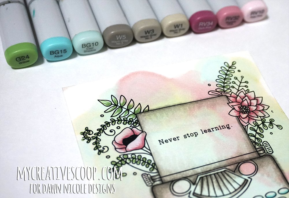 - 8 Copic Marker Tutorials With Free Printable Coloring Pages!
