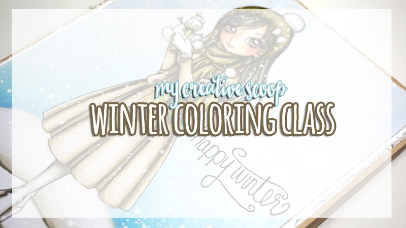 Winter Coloring Class with Make it Crafty