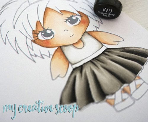 How to Color Black using Copic Markers
