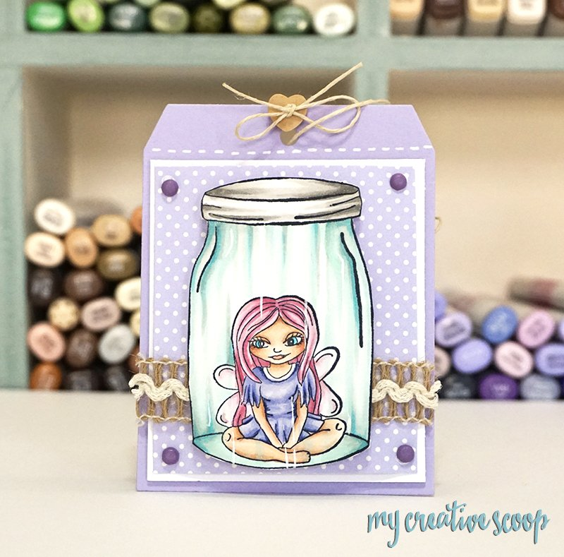 How to Color Glass using Copic Markers - Whimsy Stamps