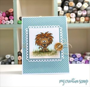 Lion Copic Marker Tutorial with Gerda Steiner Designs