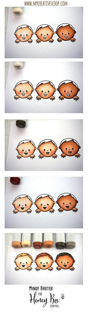 How to Color Skin Tones using Copic Markers