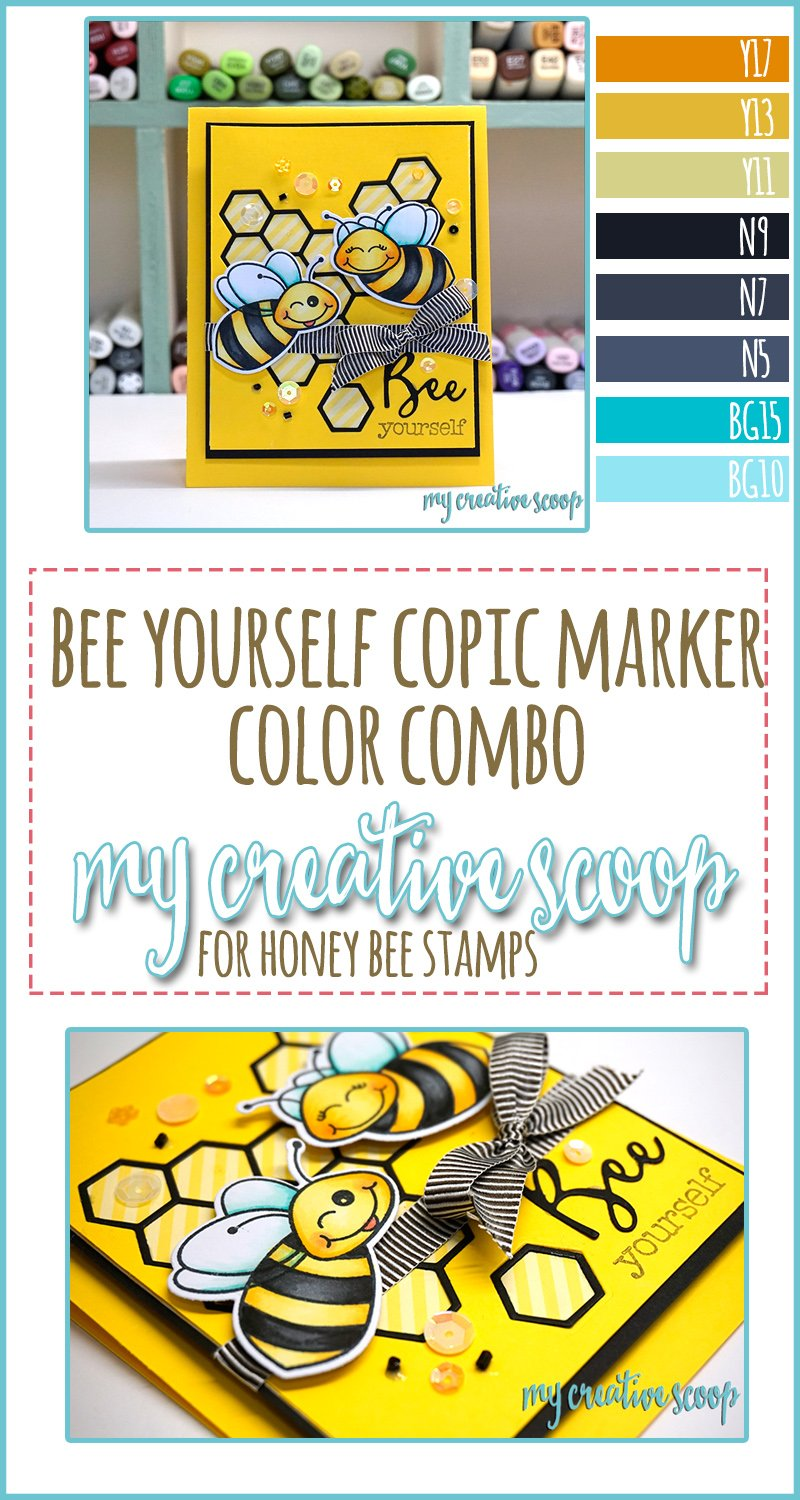 Bee Yourself Copic Marker Color Combo