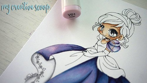 iridescent Coloring Technique using Copic Markers 5