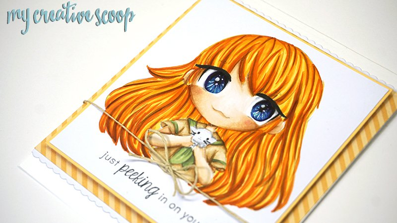 5 Days to better Copic Coloring Series + Free Digi Stamp