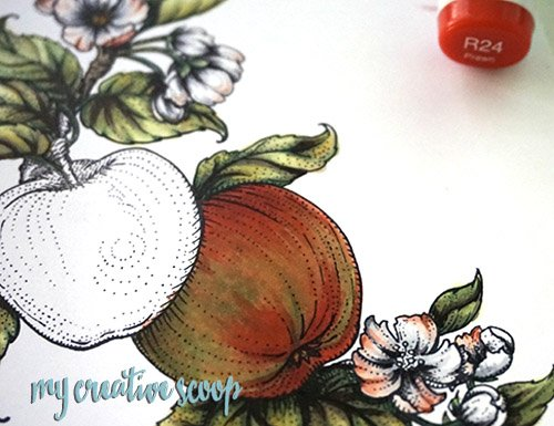 Tips on what to do when you don't like the way your Copic Colored image came out