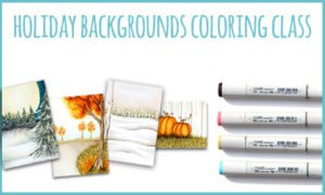 Holiday Backgrounds Online Coloring Class