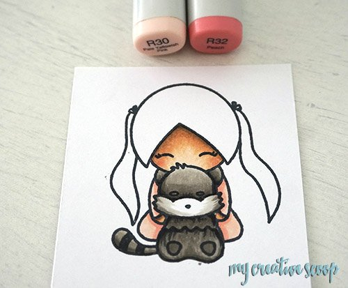 How to shadow pinks using Copic Markers and Planner Street Stamps