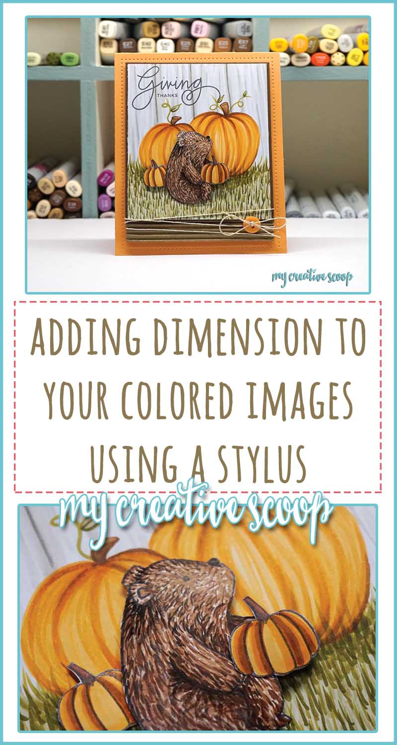 Add Dimension to your Colored Images Using a Stylus
