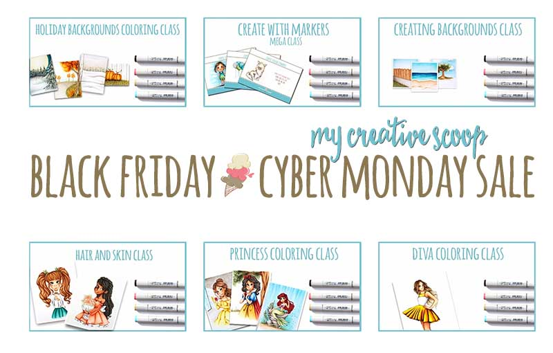 Black Friday - Cyber Monday Sale at My Creative Scoop