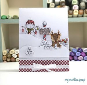 How to Color a Snowman using Copic Markers