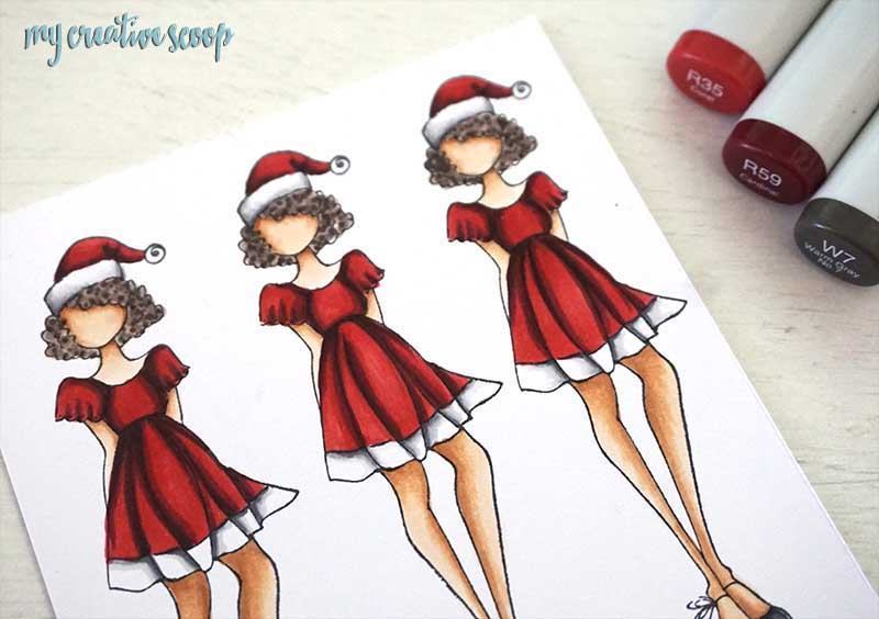How to Make a Dress Sparkle using a White Gel Pen