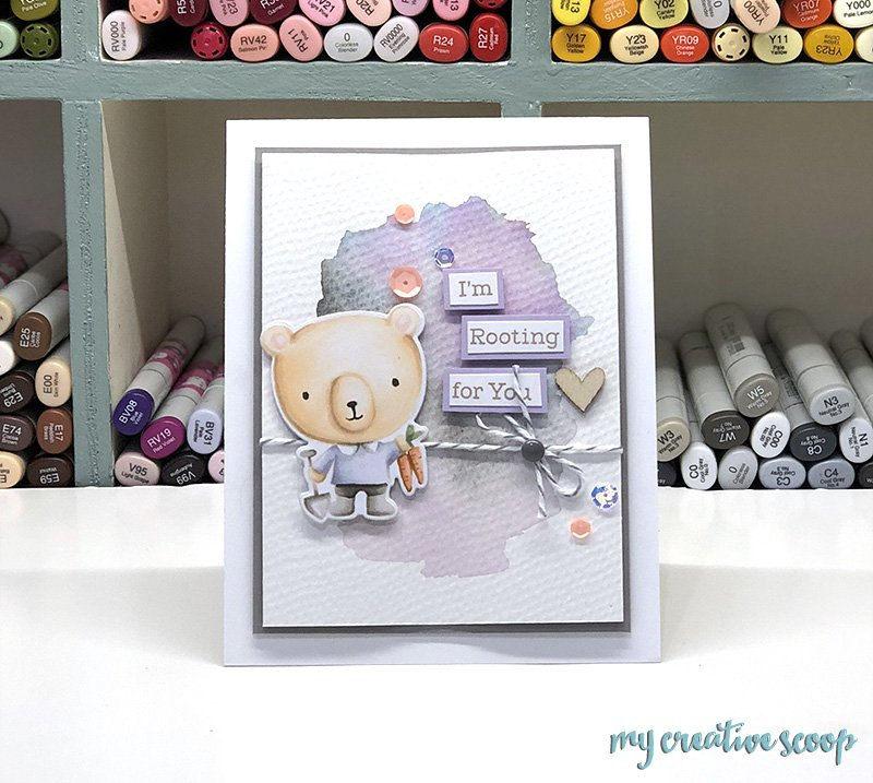 Soft No Line Coloring Tutorial with MFT Stamps