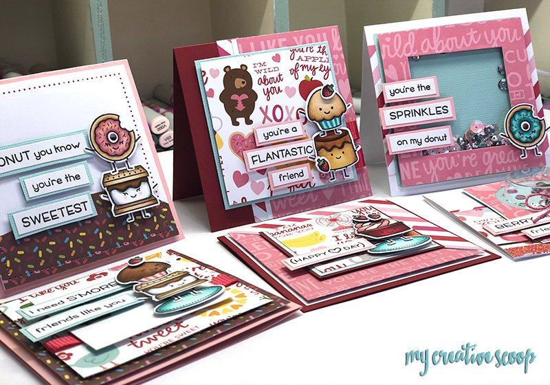 Lawn Fawn Valentines Class at This n That Scrapbooking