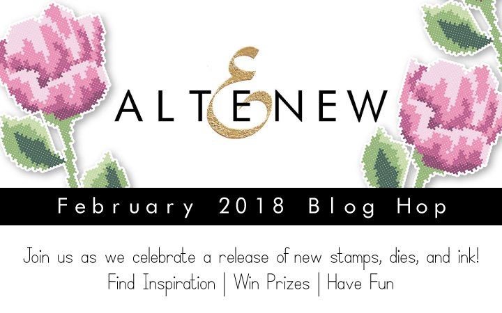 Altenew February 2018 Release Blog Hop + Giveaway