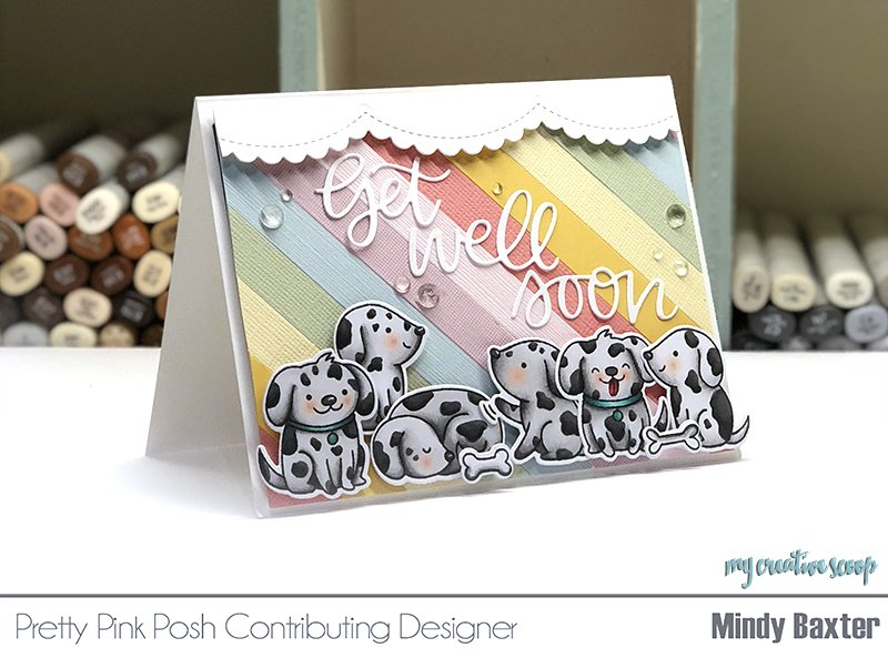 Pretty Pink Posh Sneak Peek + How to Color a Dalmatian using Copic Markers