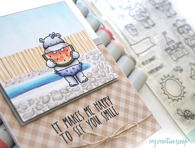New Simon Says Stamp Challenge - Food Featuring Neat and Tangled
