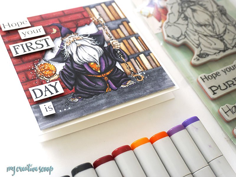 Back To School Challenge Featuring Penny Black