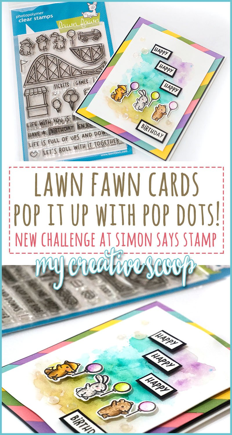 Simon Says Stamp - Lawn Fawn - Pop it up with Pop Dots