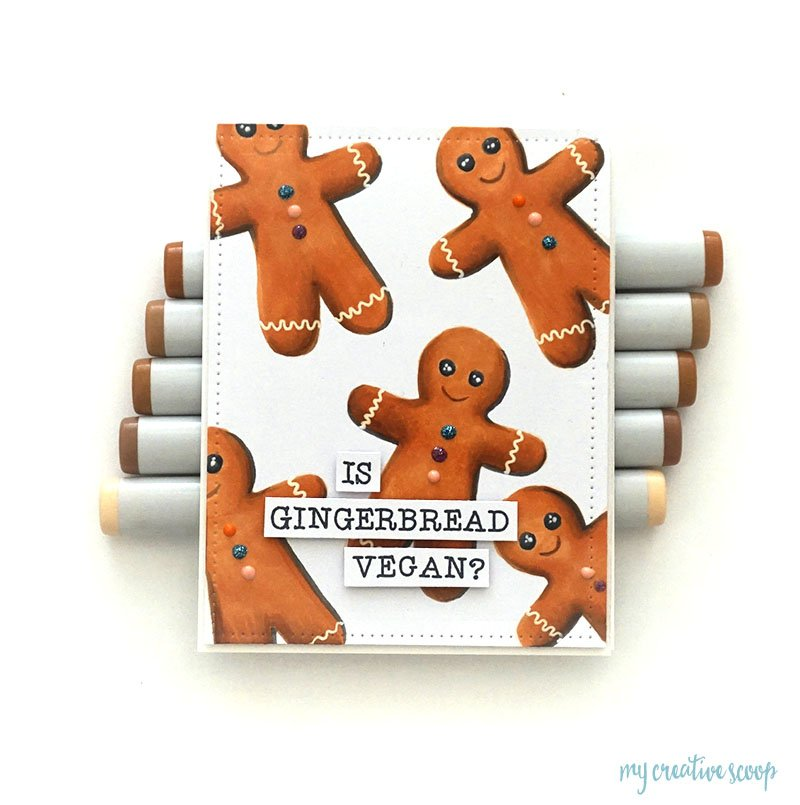 Gingerbread Copic Marker Color Combo