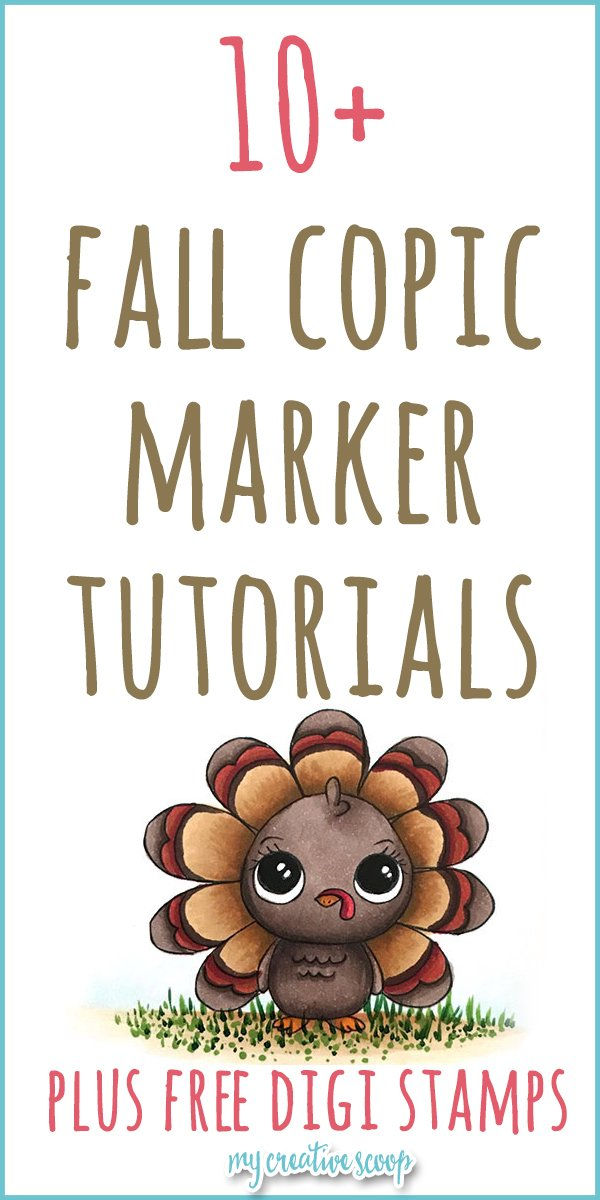 10 Copic Marker Tutorials for Fall