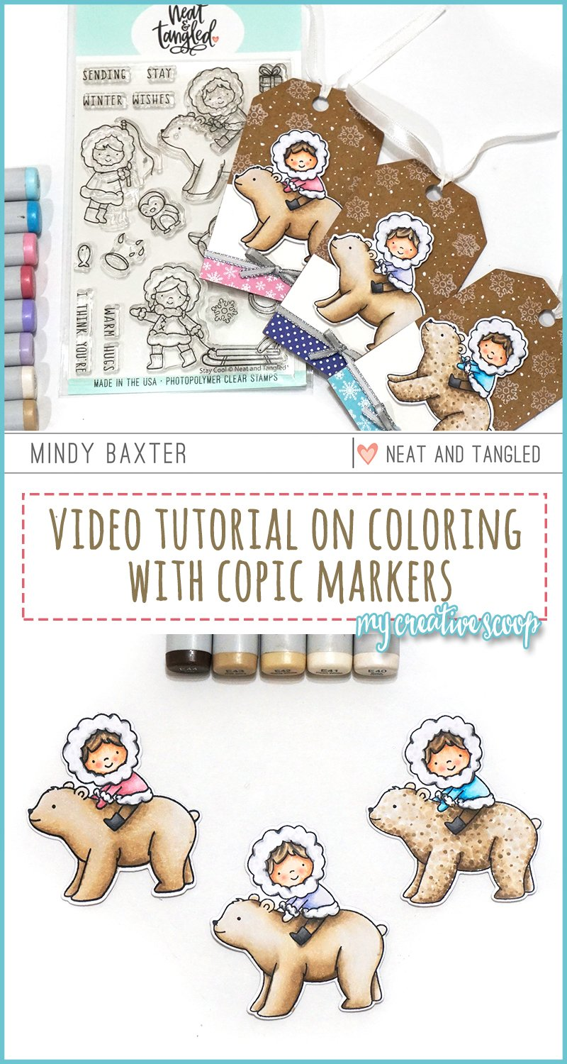 Different Styles of Coloring with Your Copic Markers + Video Tutorial