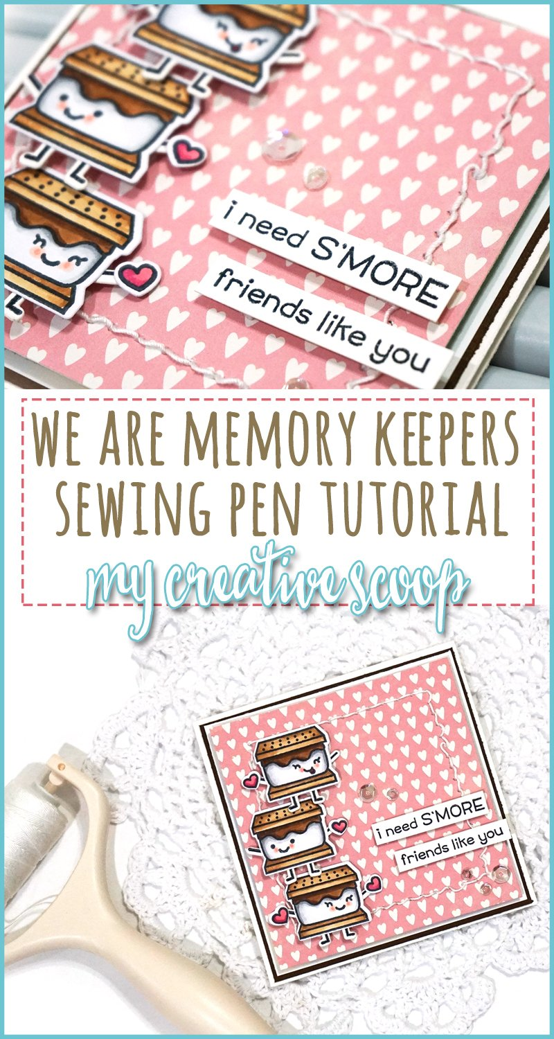 Stitch Happy Pen by We are Memory Keepers + Video Tutorial