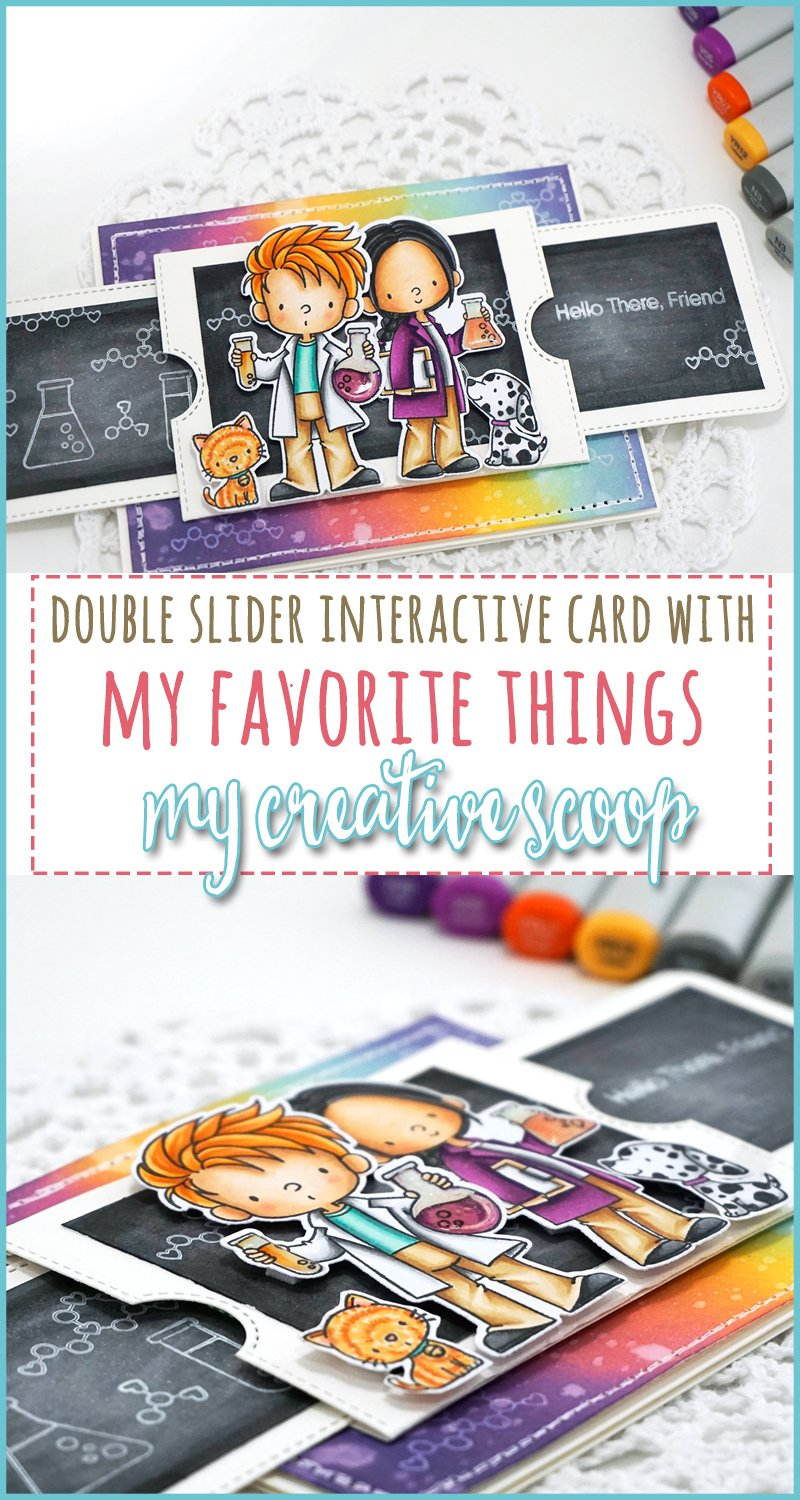 Interactive Double Slider Card